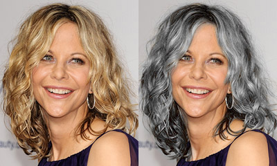 Best Hair Color: Natural Or Grey? : Hair Color | TheHairStyler.com