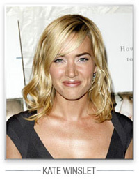 Kate Winslet hairstyles