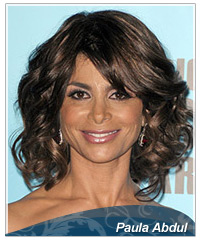 Paula Abdul hairstyles
