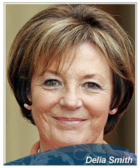 Delia Smith hairstyles