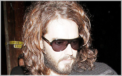 Russell Brand's Hairstyles