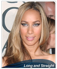 Leona Lewis hairstyles