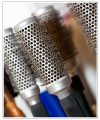 Barrel vent hair brush