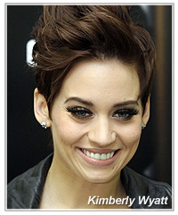 Kimberly Wyatt hairstyles