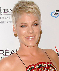 p nk natural hair color