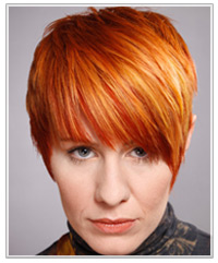 Two Tone Red Hair Color