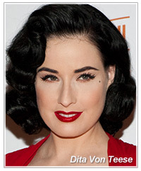 Dita Von Teese hairstyle