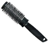 Radial hair brush
