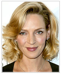 Uma Thurman hairstyle