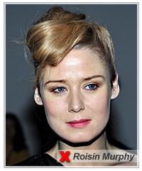 Roisin Murphy hairstyles