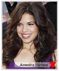 America Ferrera hairstyles