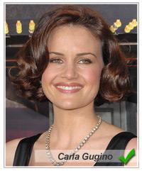 Carla Gugino hairstyles