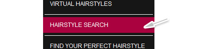 Search hairstyles option