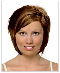 Diamond face shape medium hairstyle