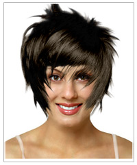 Oval face shape short hairstyle