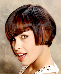 Short bob hairstyle