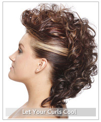 Model with curly updp