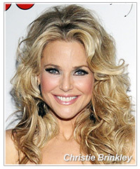 Christie Brinkley hairstyles