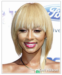 Keri Hilson hairstyles