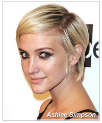 Ashlee Simpson hairstyles