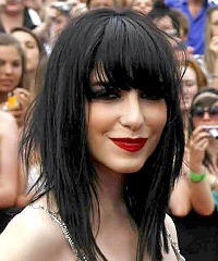 Emo Hair Style #3: Lisa Origliasso (The Veronicas)