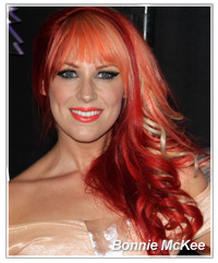 Bonnie McKee hairstyles