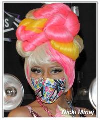 Nicki Minaj hairstyles