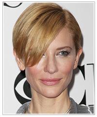 Cate Blanchett hairstyles