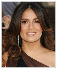 Salma Hayek hairstyles