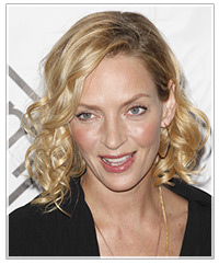 Uma Thurman hairstyles
