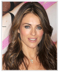 Elizabeth Hurley hairstyles