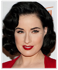 Dita Von Teese hairstyles