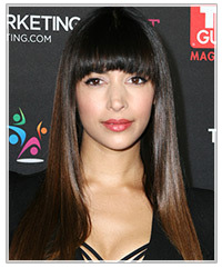 Hannah Simone hairstyles