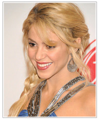 Shakira hairstyles
