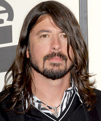 Dave Grohl hairstyles