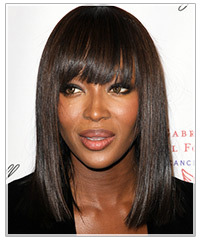 Naomi Campbell hairstyles