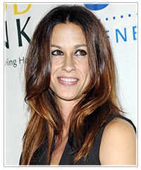 Alanis Morissette hairstyles