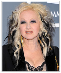 Cyndi Lauper hairstyles