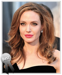 Angelina Jolie hairstyles