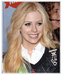 Avril Lavinge hairstyles