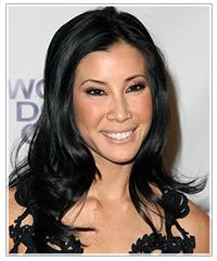 Lisa Ling hairstyles