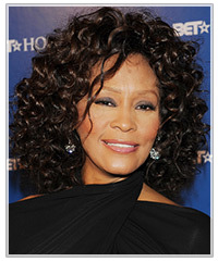 Whitney Houston hairstyles