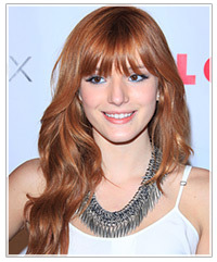 Bella Thorne hairstyles