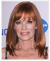 Marg Helgenberger hairstyles