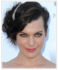 Milla Jovovich hairstyles