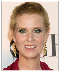 Cynthia Nixon hairstyles