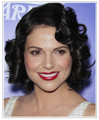 Lana Parrilla hairstyles
