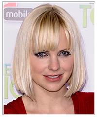 Anna Faris hairstyles
