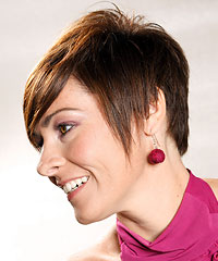 Short mod hairstyle