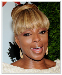 Mary J. Blige hairstyles